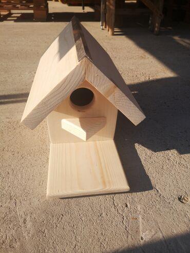 Baštenski nameštaj | Srbija: Израда кућица од дрвета за птице разних димензија. Цена највише
