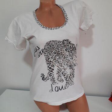 Majice - Srbija: Majca pižama vel L Turska, simpatična s printom slona