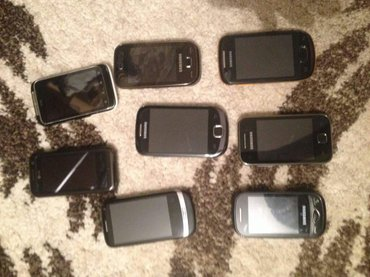 Продам или обменяю! Все рабочие в хорошем состоянии! Всего 10 телефоно в Бишкек