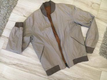 Jakna duzina grudi - Srbija: Zara jakna sa dva lica, vel.M Duzina 61cmRamena 42cmRukav 63,5Grudi 51
