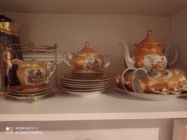 Polşa istehsalı çay dəsti. Difektsizdi
