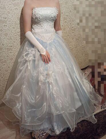кабели синхронизации optima в Кыргызстан: Продаю свадебное платье, одевалось 1 раз, размер 42-44 (регулируется