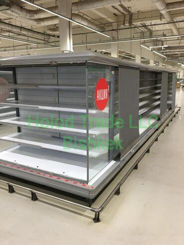 Холодильные горки с выносным агрегатом.МонтажРасходные