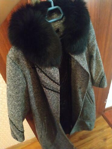 Пальто - Кок-Ой: Продаю пальто одевала один раз в кафешку почти новая отдам за 6500