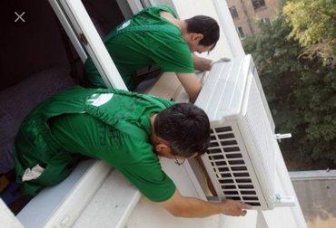 Монтаж кондиционеров любой сложности профессиональные рабочие