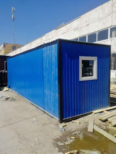 строительный вагон в Кыргызстан: Вагон бытовка.  Строительный вагончик бытовка для круглогодичного прож