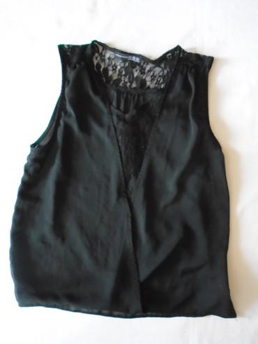 Crna bluza sdugim rukaviz italij - Srbija: Crna Atmosphere bluza sa čipkom. Etiketa sa veličinama je slikana