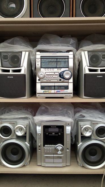 Продаю муз центры отл.сост. аукс. не дорого в Бишкек
