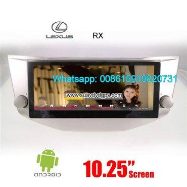 LEXUS RX300 330 350 400h Car radio android GPS camera in Kathmandu - photo 2