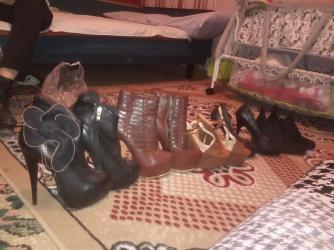 Женская обувь в Каракол: Продаю каблуки 15-16 см.Покупала загран.очень дорого одевала
