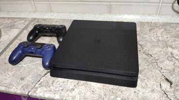 PlayStation 4 Slim 500 GB. Приставка в отличном состоянии, не