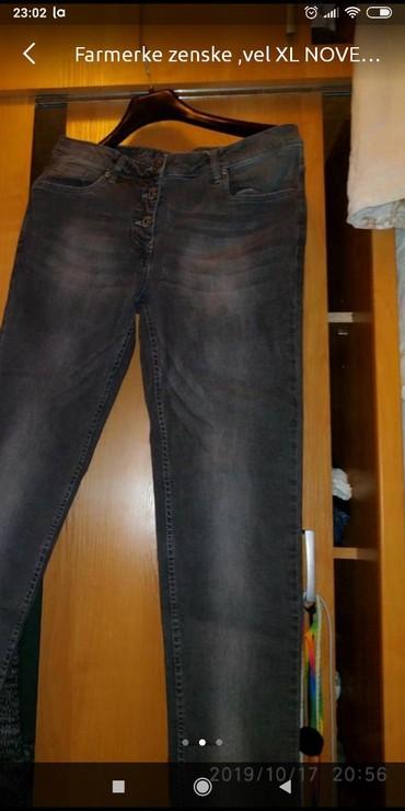Blue-jeans - Srbija: Farmerke zenskevel XL NOVE BLUE JEANS