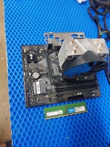 Продаю игровой комплект Материнская плата Asus b360m-a Intel core i3