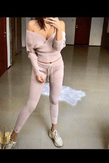 Ženska odeća | Palic: AKCIJA!!!Novi kompleti, boje puder roza i siva, velicine S,M