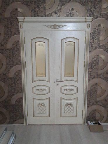 Установка меж комнатных дверей (добор) в Бишкек