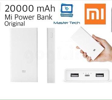 Portativ enerji yükləyicilər Azərbaycanda: 100% original holoqramli xiaomi Mi power bank 20000 mah. yeni qutusund