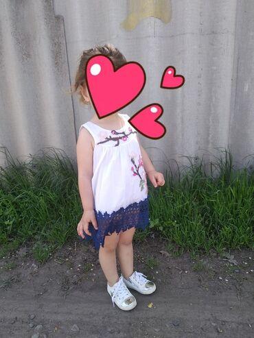 Детская одежда и обувь - Беловодское: ПЛАТЬЕ ДЛЯ ДЕВОЧКИ ВОЗРАСТ 2-3 ГОДА ОЧЕНЬ КРАСИВОЕ ПЛАТЬЕ