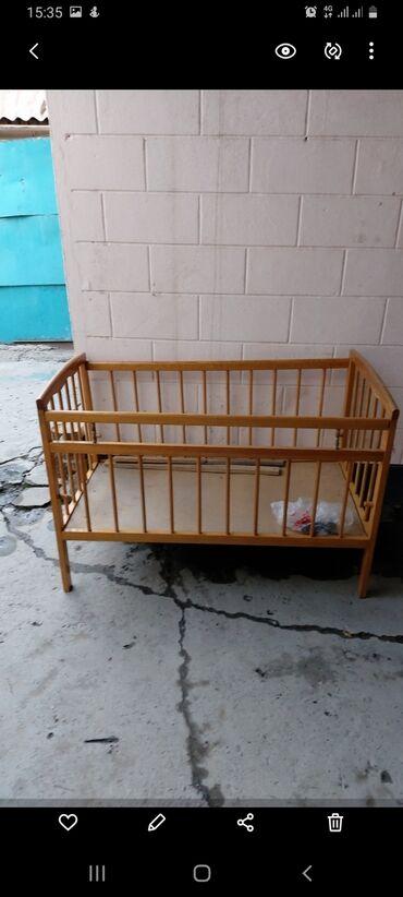 бу детские кроватки в Кыргызстан: Кроватка кровать детская бу в хорошем состоянии 2000 сом