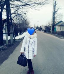 Женская одежда в Баетов: Очень теплая, почти новая куртка размер s
