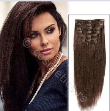 *novo* kvalitetna vestacka nadogradnja (nijansa prirodno braon kosa) - Vrnjacka Banja