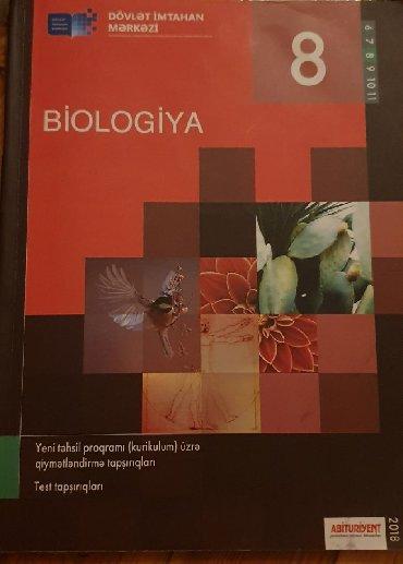 biologiya kitabi - Azərbaycan: Test kitabi biologiya . Hec islenmeyib tertemizdir
