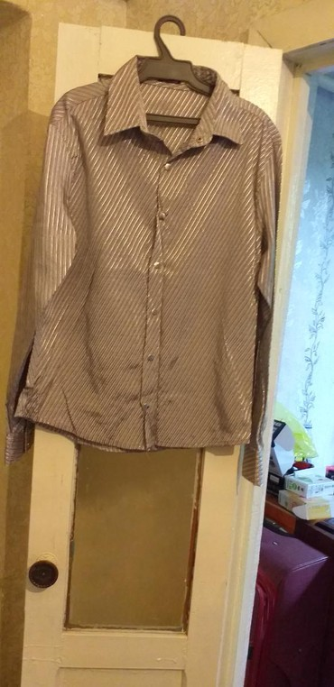 рубашка с длинным рукавом мужская в Кыргызстан: Мужские рубашки L