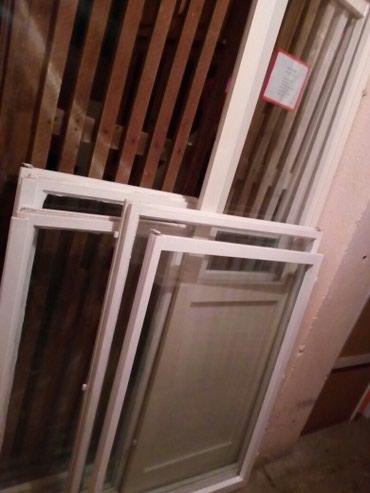 Prozori 4 kom 1,4m sa 1,4m i balkonska vrata 2 kom zajedno 2000 - Nis