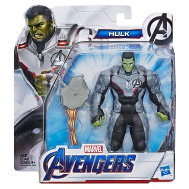 Figura - Srbija: Marvel Avengers: Endgame Team Suit Hulk Deluxe Figure  Visina