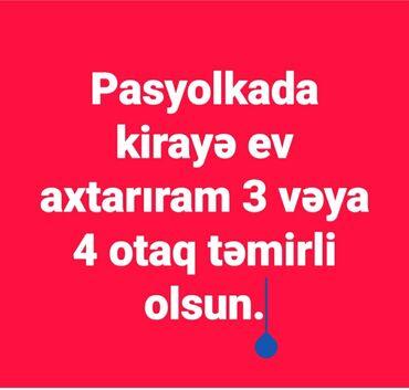 bmw 4 серия 420i mt - Azərbaycan: Füzuli parkına xanımın dükanına yaxın yerdə 3 vəya 4 otaqlı təmirli az