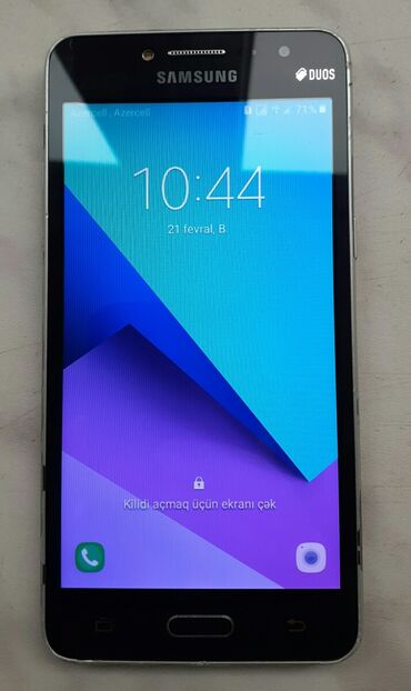 сенсор fly iq4404 в Азербайджан: Б/у Samsung Galaxy J2 Prime 8 ГБ Черный