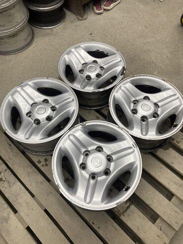Срочно диски Тойота размер 16 ширина 7 вылет 15 цо 106.1  Разболтовка