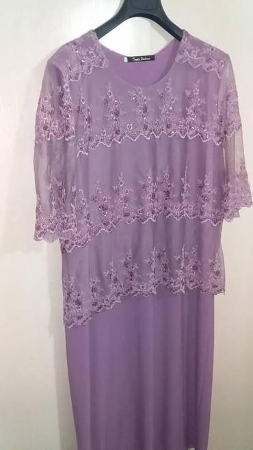 вечернее платье 52 54 размер в Кыргызстан: Красивое платье! Турция размер 52-54.одевала один раз.брали за