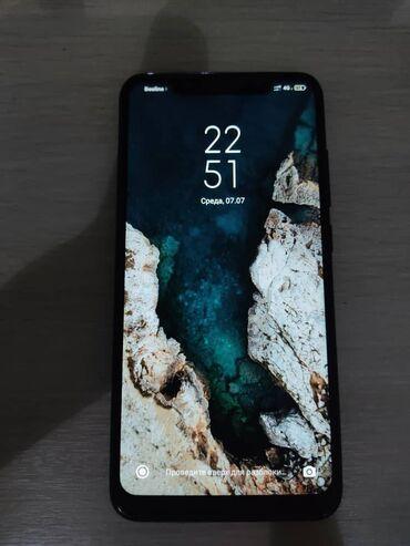 Электроника - Баткен: Xiaomi Redmi Note 6 Pro   64 ГБ   Черный   Сенсорный