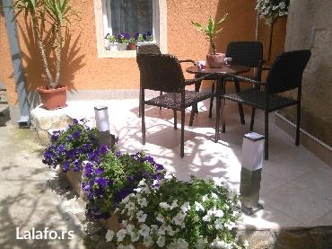 Barska-stolica - Srbija: Baštenski set,4 stolice i sto