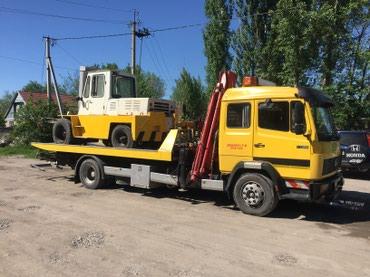 Эвакуатор с краном до 5тонн по городу и в Бишкек
