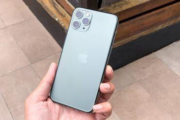 iphone 11 pro цена ош in Кыргызстан   APPLE IPHONE: IPhone 11 Pro   64 ГБ   Черный Б/У   Гарантия, Кредит, Беспроводная зарядка