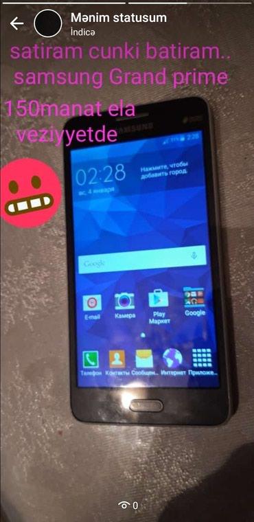 Samsung-galaxy-grand-prime-satiram - Azərbaycan: İşlənmiş Samsung Galaxy Grand 8 GB qara