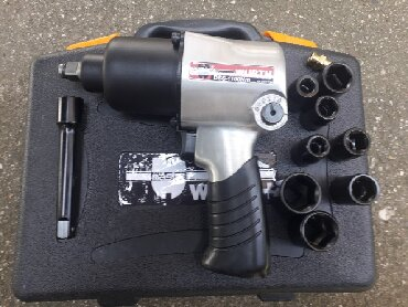 Pneumatski pistolj WURTH 1100Nm NOVO, U koferu sa gedorama kao na