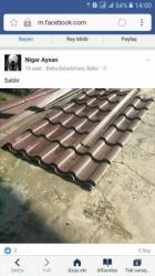 Taxta tavanlar qiymeti - Azərbaycan: Dam ortukleri ve asma tavanlar catdirilma pulsuz