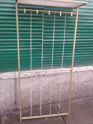 вешалка для одежды в Кыргызстан: Продаётся вешалка для одежды, металлическая облегчённая.Производство