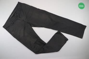Мужская одежда - Украина: Чоловічі штани у тоненьку смужку Tello Jns, р. S/M    Довжина: 109 см