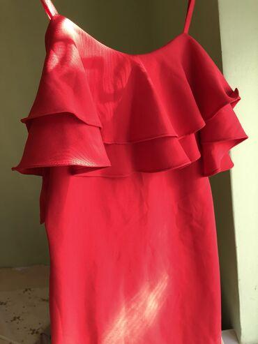 SALE! Распродажа красного платья. Турция! Новый( фото этикета)