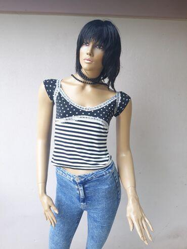 Ženska odeća | Prokuplje: Tally Weijl majica bez ostecenja kao nova Veličina XSPogledajte i