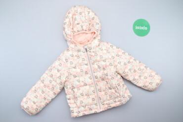 Дитяча куртка з квітковим принтом Primark, вік 2-3 р.     Довжина: 37