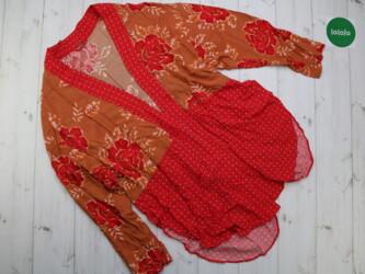 Удлиненная рубашка-накидка в цветочном принте Длина: 89 см Рукава: 65