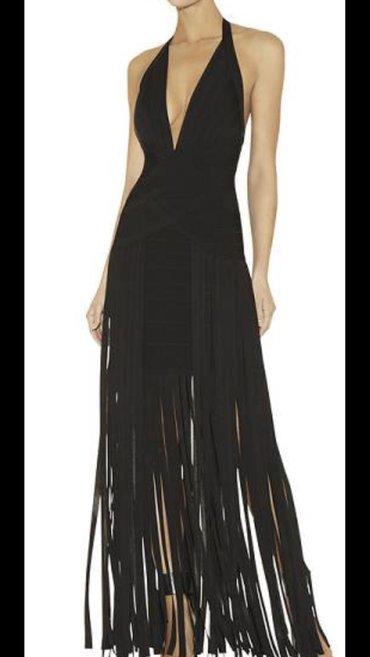 NOVO! Prelepa haljina ,čvrstog i prijatnog materijala . Odgovara S/M  in Novi Sad