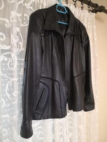 Ženska kožna jakna, veličina 4XL,kvalitetna prirodna koža, NOVO