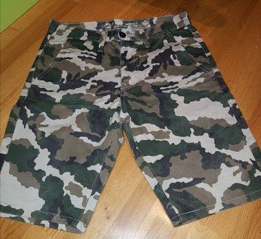 Maskirne-pantalone - Srbija: MASKIRNE - vojnicke bermude.nove su bukvalno 1x obucene i male. pise