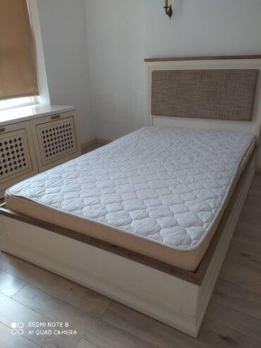туры с бишкека в Кыргызстан: Продается кровать. Производство Турция, полностью дерево. С матрасом