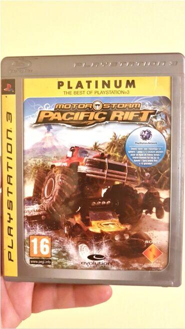 Ps3 igrice - Srbija: Igrica Motorstorm Pacific Rift je namenjena za konzole Sony